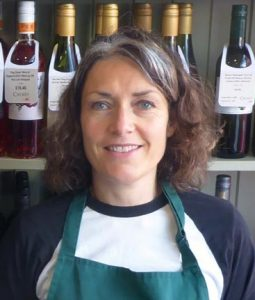 Cinzia Long, owner of Cuculo Cheese & Wine