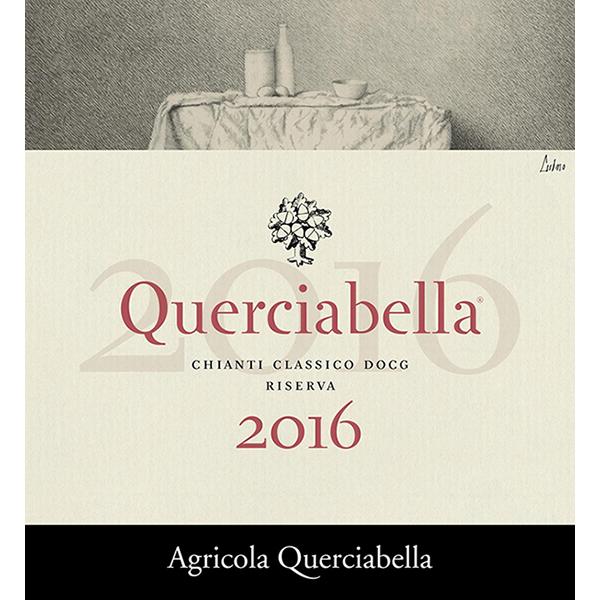 Querciabella Chianti Classico DOCG 2016 Riserva Label