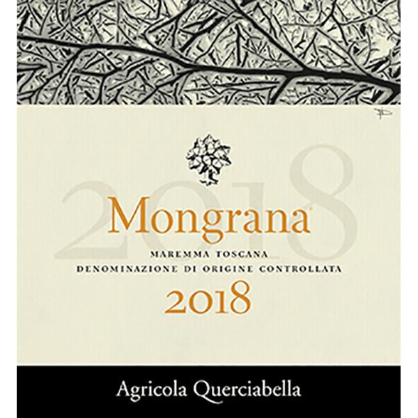Mongrana Bottle Label