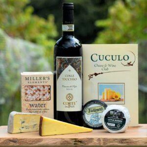 Cuculo Cheese & Wine Club Standard
